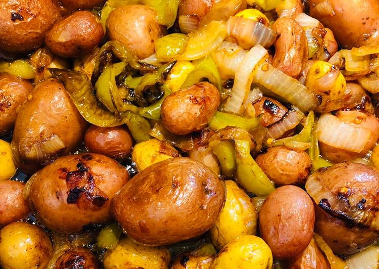 Recipe of Super Quick Homemade Firecracker Red Potatoes 🥔