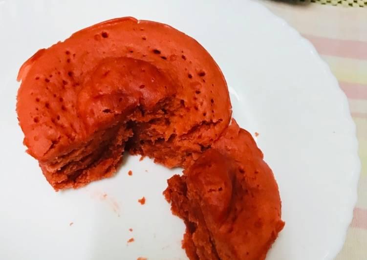 Eggless Vanilla Sponge Cake(Microwaved)