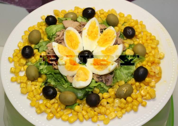recette Salade Mixée délicieux