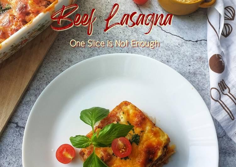 Beef Lasagna#DaporAzahZara