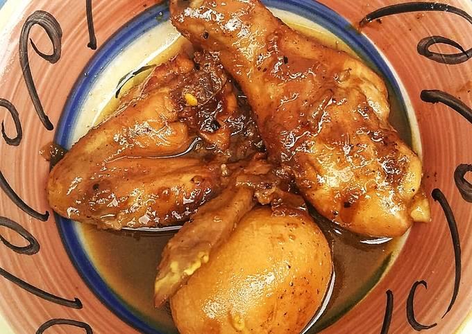10. Ayam dan Telur Masak Kecap ala Mama