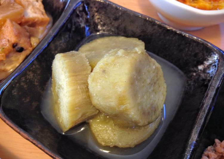 Simmered Sweet Potatoes