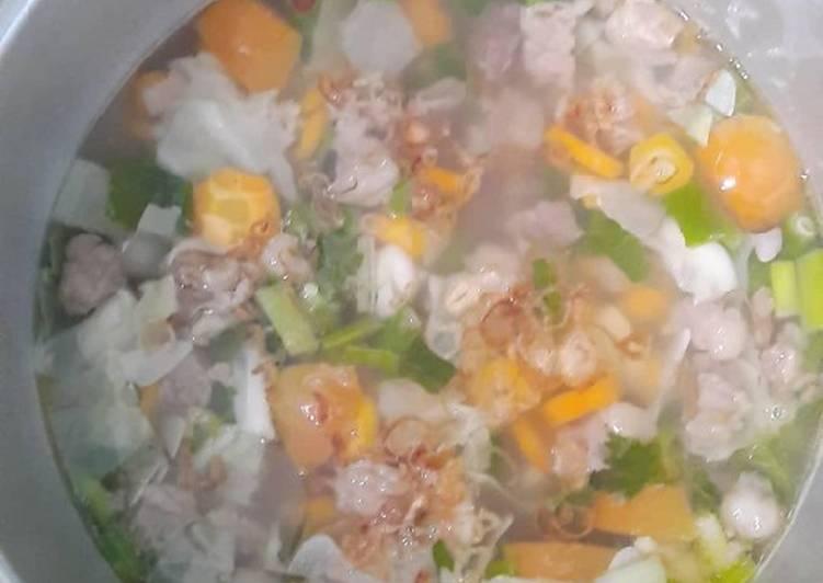 Resep Sayur Sop Daging Tetelan Yang Simple Bikin Ngiler