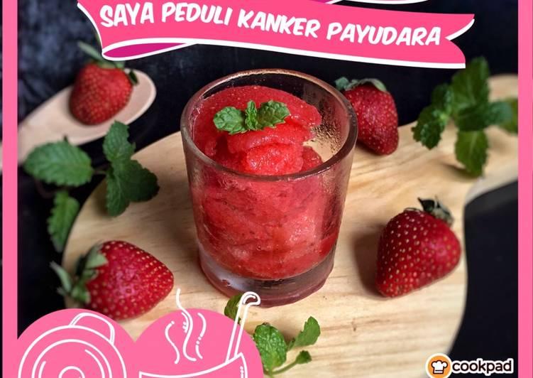 Sorbet strawberry