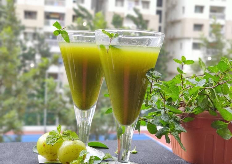 आंवला जूस (Amla Juice recipe in Hindi) रेसिपी बनाने की विधि in Hindi by Dr  Kavita Kasliwal - Cookpad