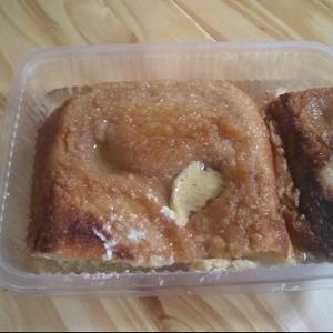 Budín de pan fácil y blandito