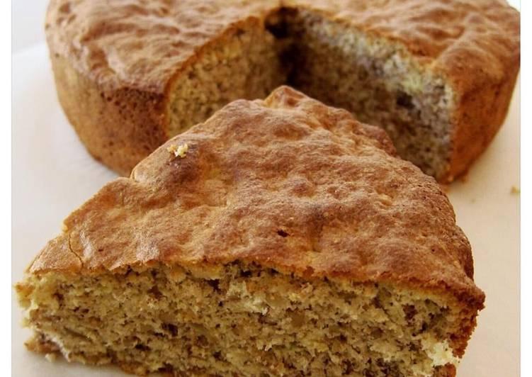 Sponge Cake With Walnuts