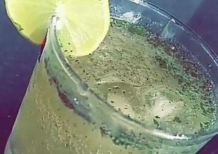 Recipe of Super Quick Homemade Mint lemonade