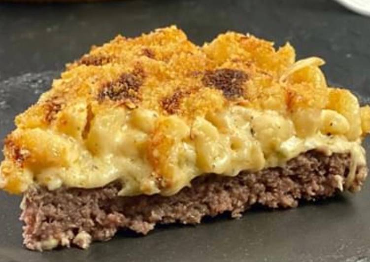 Hamburger Mac and cheese