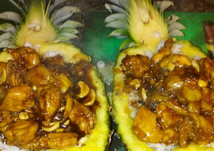 Sticky Asian Pinapple Chicken