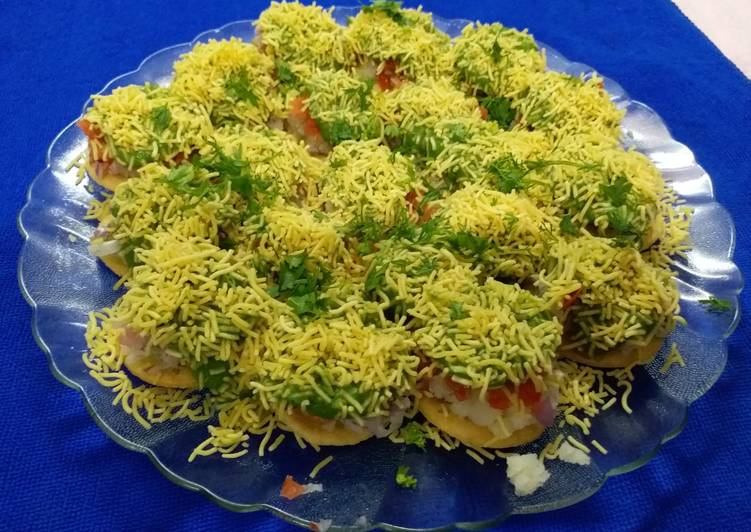 10 Minute Easiest Way to Prepare Blends Sev Puri