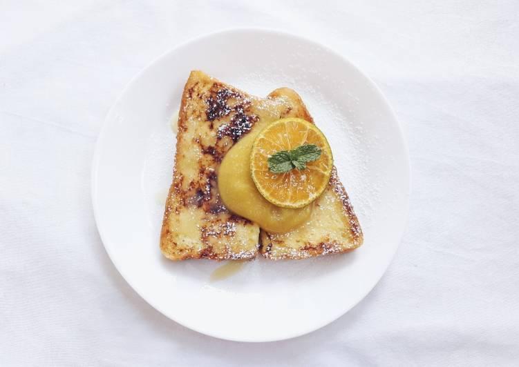 Resep Tangerine Kaya Jam And French Toast Oleh Erwinda Ika Cookpad
