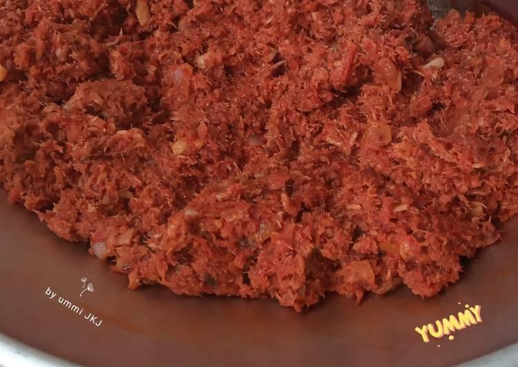 Resep Sambal Tuna Sempurna