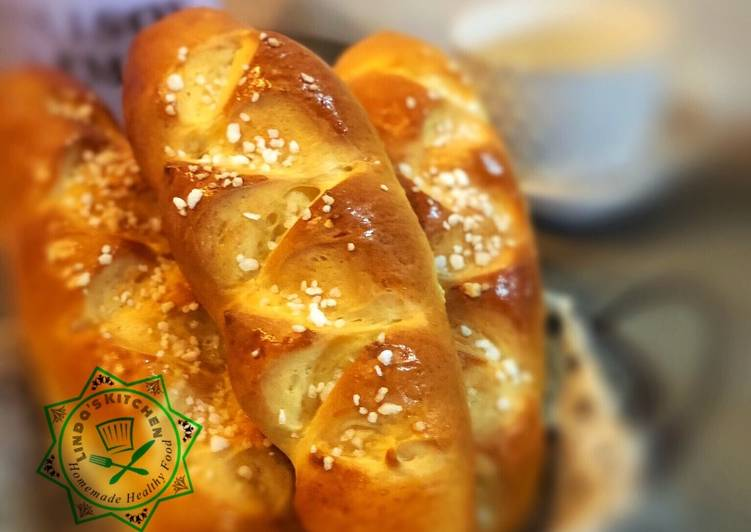 Step-by-Step Guide to Make Any-night-of-the-week Pain au lait (French Milk Bread)