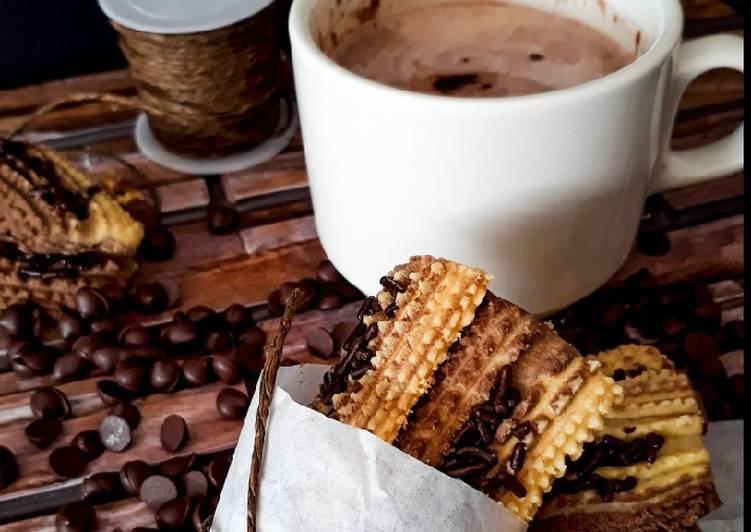 Semperit susu mix coklat. biskut (maraton ramadhan)