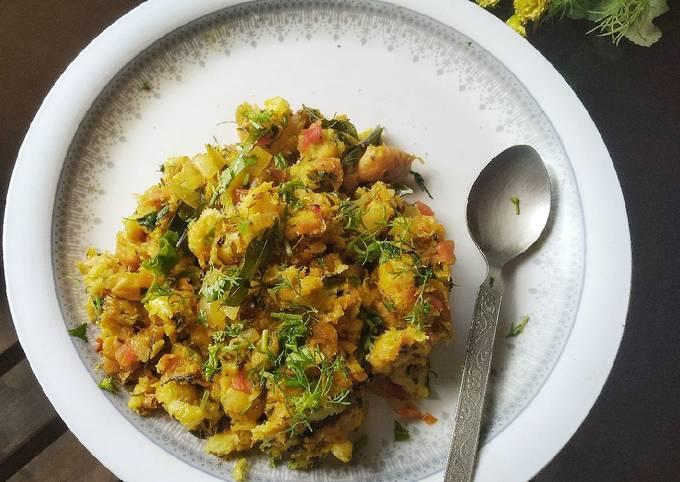 Recipe of Homemade Seyal pav (sindhi breakfast)