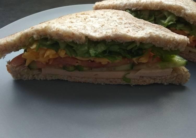 Recipe of Ultimate Healthy Sandwich