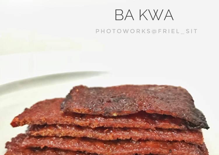 Ba kwa /Bbq pork jerky / Dendeng babi manis