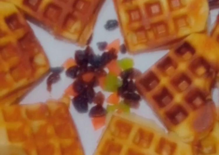 Recipe: Delicious Waffles