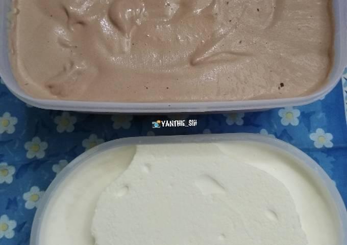 🍨Es Krim 2 Rasa (Coklat dan Durian)🍨