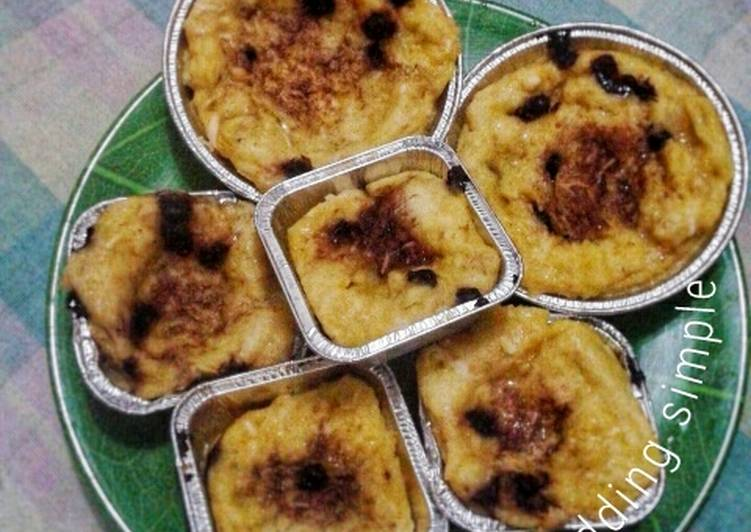 Bread Pudding Sederhana