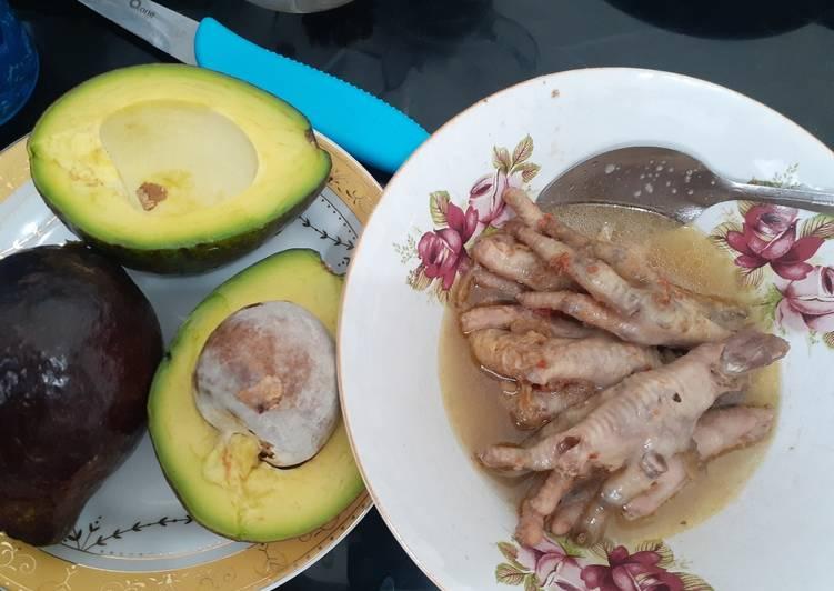 Resep Menu DEBM / Keto (ceker empuk masak slowcooker)
