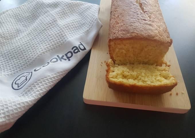 Cake moelleux aux jaunes d'oeuf