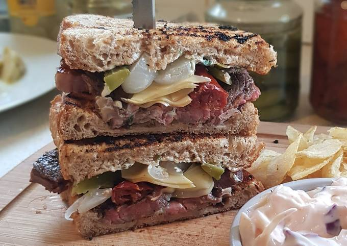 Rump Steak Sandwich