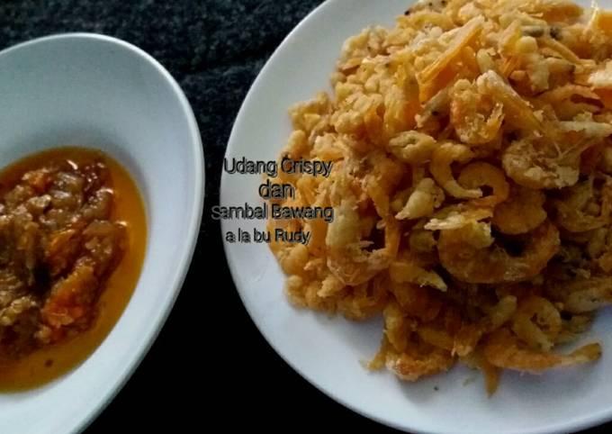 Resep Udang Crispy Dan Sambal Bawang A La Bu Rudy Oleh Izzahan Cookpad