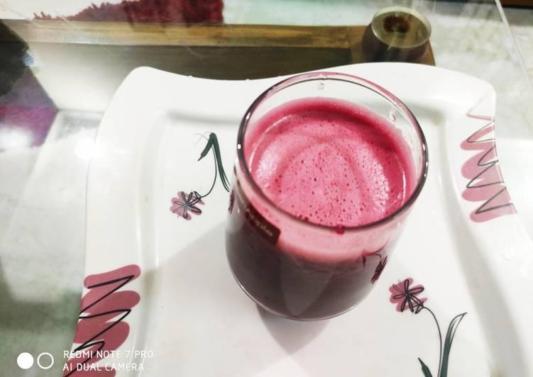 How to Make Speedy Healthy beetroot juice