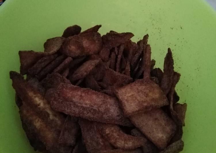 Gambar Keripik Pisang Coklat Khas Lampung Resep Keripik Pisang Coklat Khas Lampung Oleh Eni Mama Saeyza