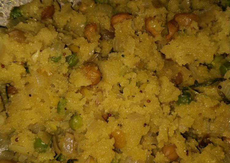 Recipe of Perfect Peas upma