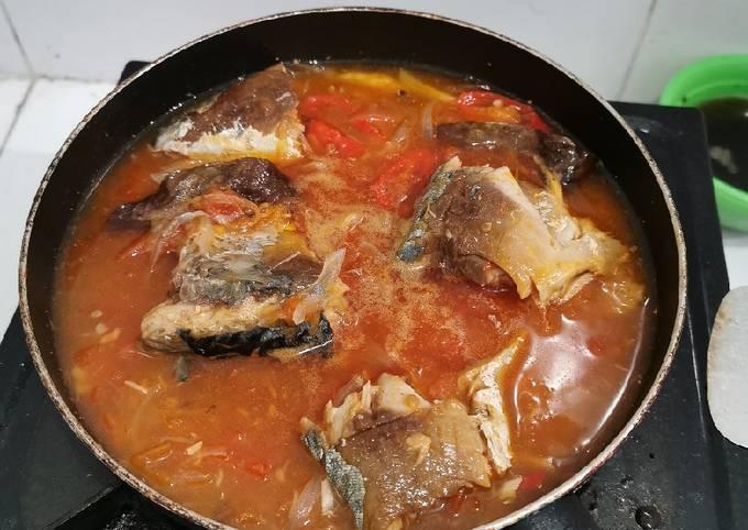 Sarden ikan salem homemade