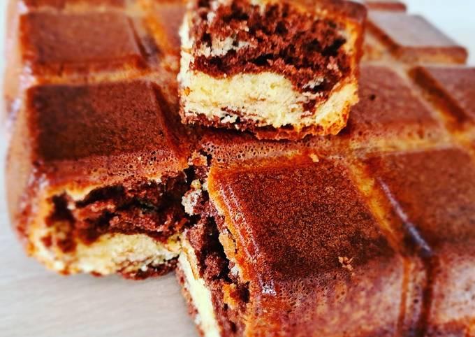 Marbré moelleux au chocolat
