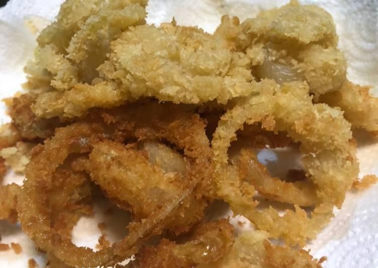 Onion  Ring Crispy Bumbu Racik