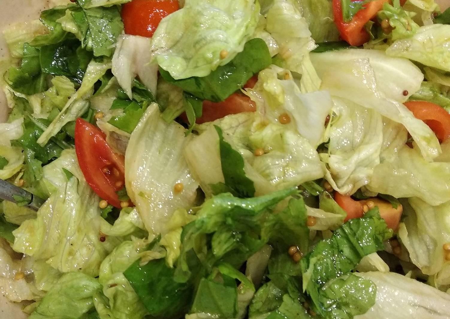 Салат с айсбергом рецепты с фото простые