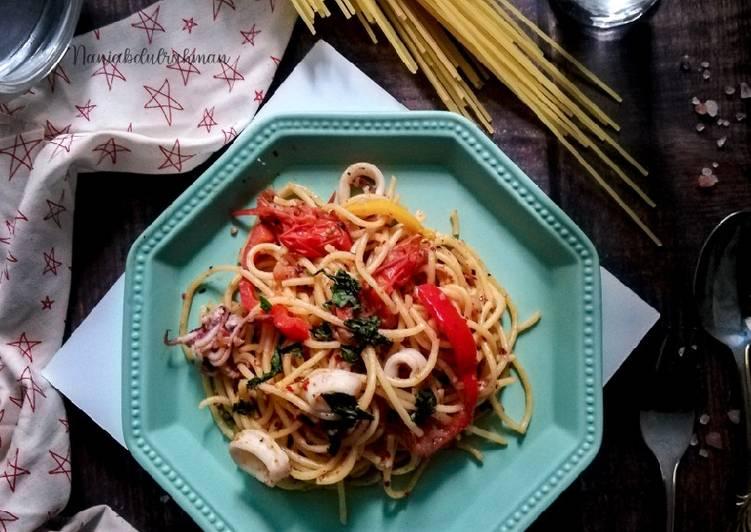 Spaghetti Aglio e Olio #phopbylinimohd - velavinkabakery.com