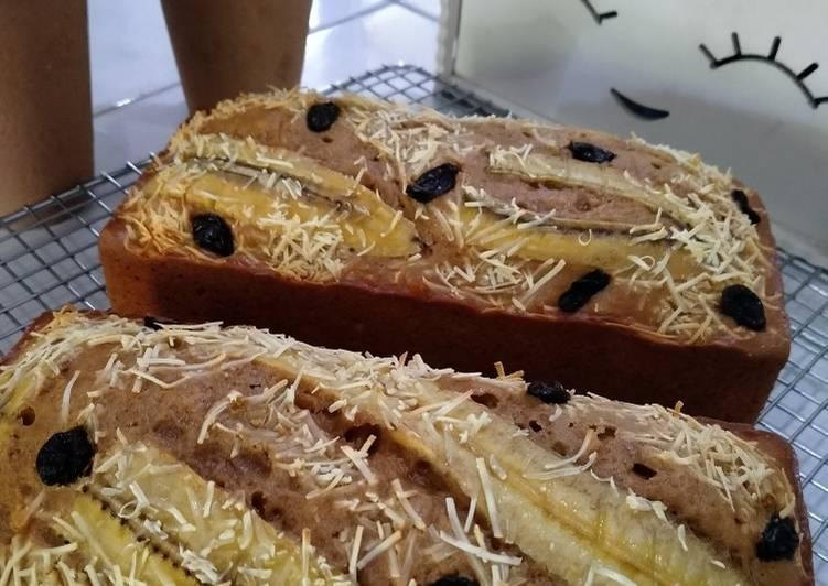Cake Pisang (tanpa mixer,ukuran gelas)