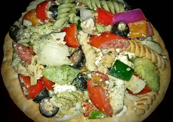 Recipe: Yummy Mike's Chilly Greek Pita Salad