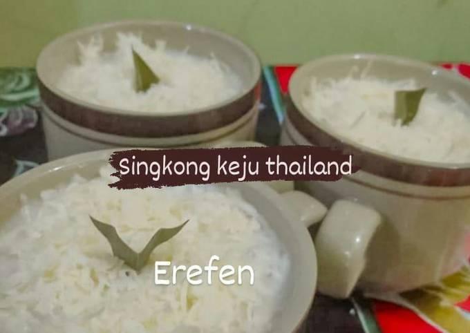Singkong keju thailand