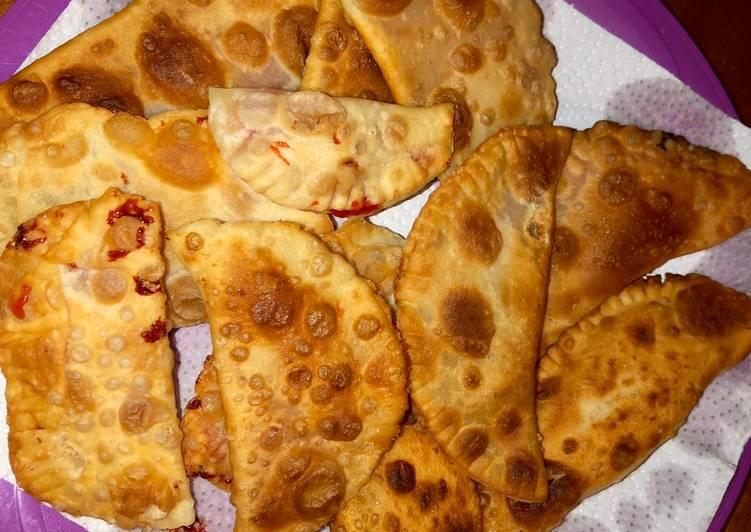 Empanadas con mermelada de guayaba