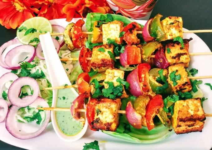 Recipe of Favorite Paneer Tikka
