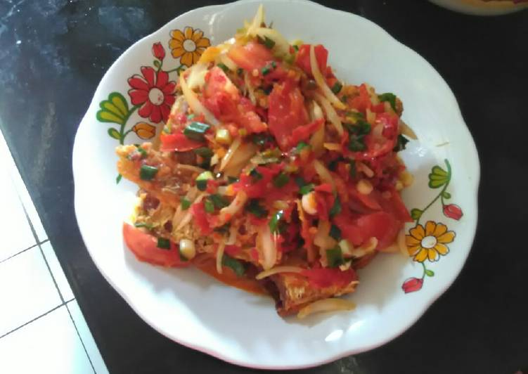 Ikan merah sambal bombay