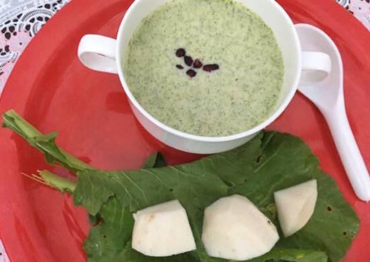 Recipe of Favorite Creamy Turnip Soup