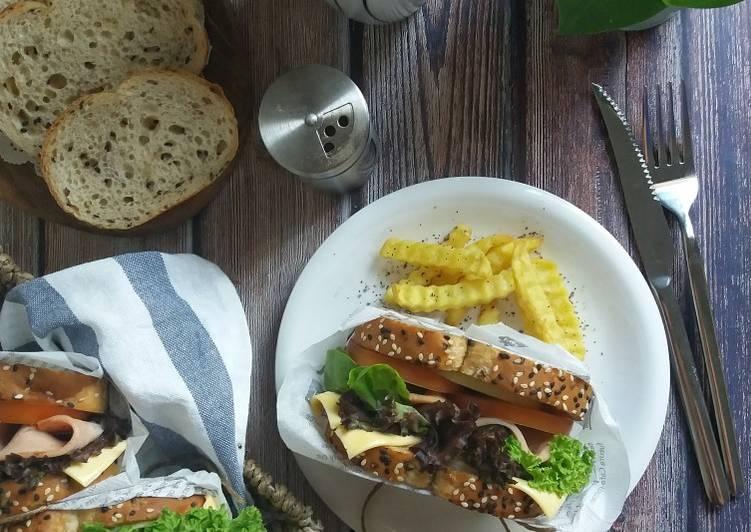 Resepi:  Sandwich Chicken Loaf #phopbylinimohd #task4  Enak