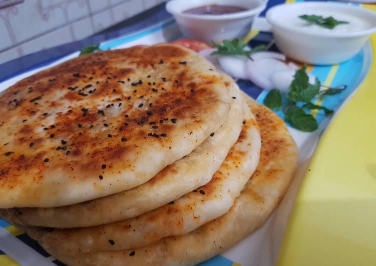 Steps to Prepare Speedy Chicken Aloo Stuffed Kulcha Recipe I Chicken keema Kulcha I Chicken Aloo Naan I