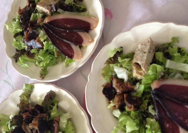 Comment Faire Des Salade Périgourdine