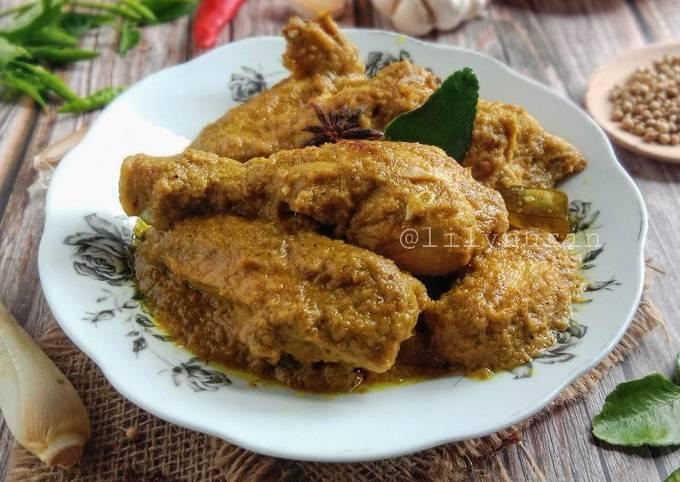 Rendang Ayam Cili Padi