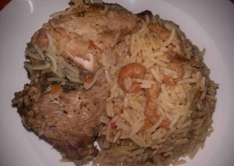Left Over Shrimp Sauce Jollof Rice