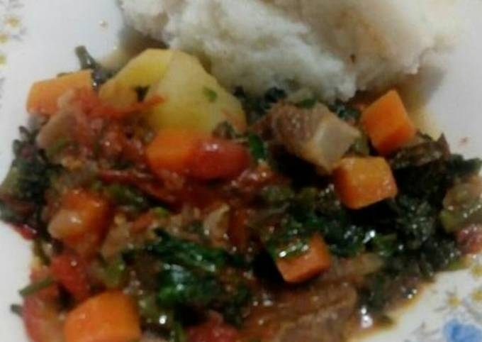 Stewed beef, my style